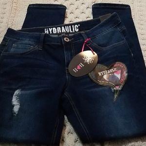 Super stretchy skinny jeans